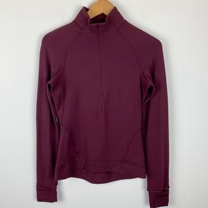 Lululemon Outrun the Elements 1/2 Zip Size 4